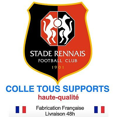 Stickers autocollant RENNES STADE foot football, plusieurs tailles, super prix