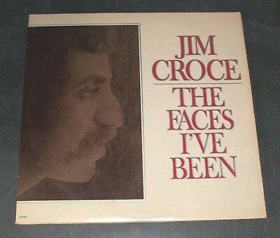 1975 Jim Croce The Faces I've Been Lifesong Folk Compilation Vtg Vinyl Lp Record