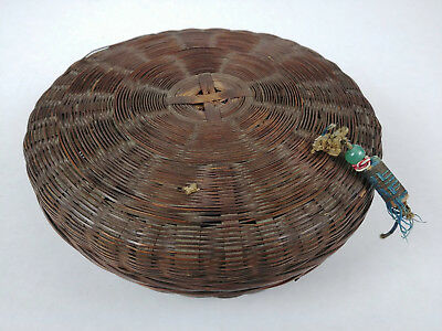SMALL ANTIQUE Chinese Sewing Basket Betty-Lou Collection 164