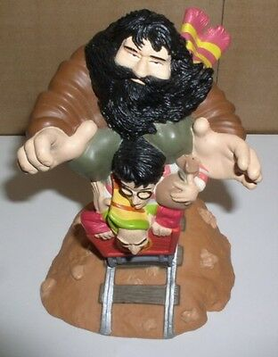Harry Potter with Hagrid th half-giant piggy bank