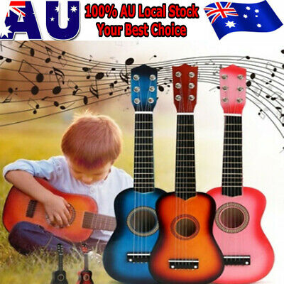 21'' Kids Acoustic Guitar 6 String Practice Music Instruments Children Gifts
