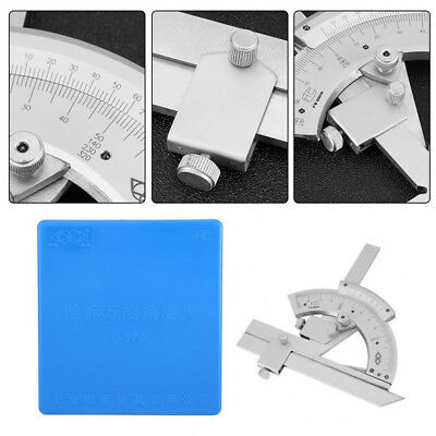 Steel  Universal Goniometer Angle Ruler Angle Measuring Finder Bevel Protractor