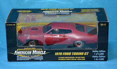 1:18 American Muscle - 1970 Ford Torino GT - Diamond in the Rough - Shelfware