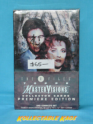 The X-Files MasterVision Collector Cards Sealed Box