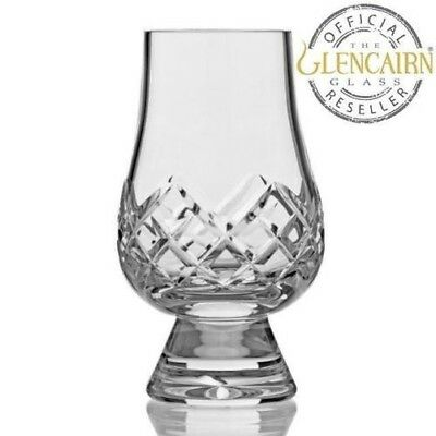 Glencairn Scottish Crystal Cut Whisky Whiskey Glasses Tasting Nosing Gift Sets