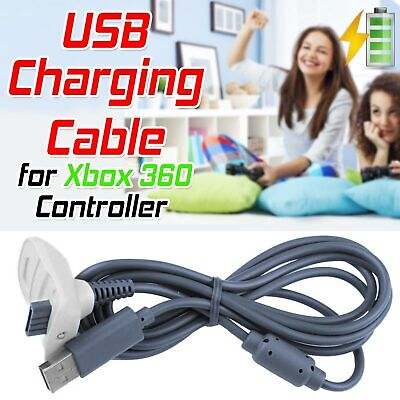 USB Charge Cable for Xbox 360 Controller Gamepad Charger charging XBOX360 UK