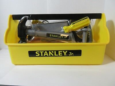 Stanley Jr. Tool Box 14 Pieces Toy Set Basic Safe Tools for Kids