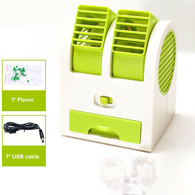 Portable USB Rechargeable Water Cooler Cooling Fan Desk Car Mini Air Conditioner