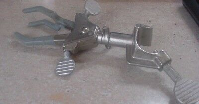 Fisher Scientific   Clamp  Adjustable Pole Lab Clamp 7 3/4 nice+
