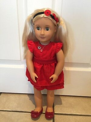 b2ab34422390f Our Generation Deluxe Doll - Ginger - Rare - Immaculate 18