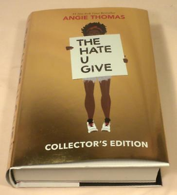 THE HATE U GIVE, Angie Thomas, SIGNED, Collector's Edition, 2018, New