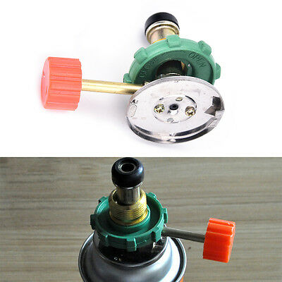 Propane Refill Adapter Gas Cylinder Tank Coupler Heater for Camping Hunt LD