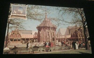 Postcard Thailand Pavilion New York World's Fair 1964 - 1965