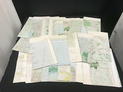Huge Lot of 32 Maps Of Africa Various Locations #42