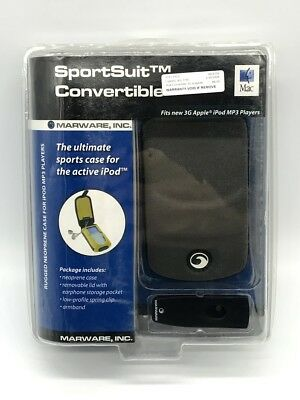 Gray Marware Sportsuit Convertible Neoprene Case for Apple iPod 3G Classic