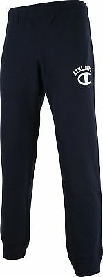 Champion Athletic Mens Joggers Navy Sweatpants Casual Fashion Gym Workout Pants