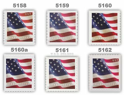 5158-62 5159 5160 5160a 5161 5162 Flag Forever Complete Set 6 2017 MNH - Buy now