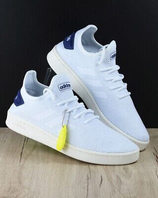 info for 3a72f f963b Adidas Shoes Schuhe Sport Sneakers Court Adapt White Blue Sportswear  Lifestyle