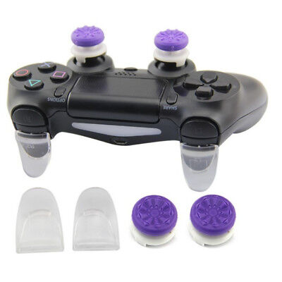 For Sony PS4 Analog Control Thumb Stick Cap with L2 R2 Button Extender Parts