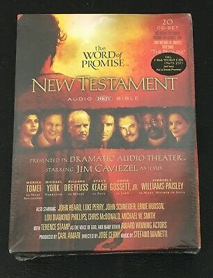 THE WORD OF Promise New Testament - NKJV Audio Bible - 20 CD GIFT