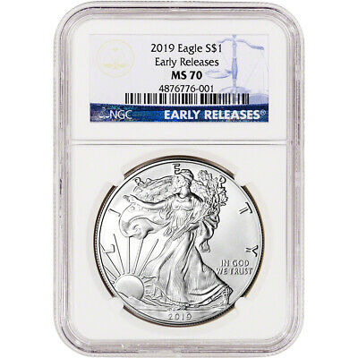 2019 American Silver Eagle - NGC MS70 - Early Releases