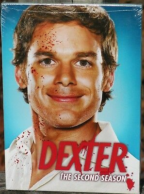 Dexter The Complete Second Season (DVD, 2008, 4-Disx Set) NEW Sealed