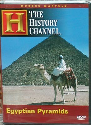 Modern Marvels - Egyptian Pyramids (DVD, 2005) THC How They Were Built Tombs NEW