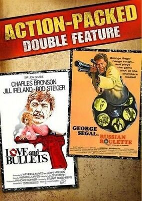 LOVE AND BULLETS + RUSSIAN ROULETTE New Sealed DVD Action Packed Double Feature