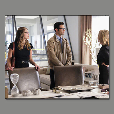 Melissa Benoist Supergirl Tyler Hoechlin New!! 8X10 Photo Wf25