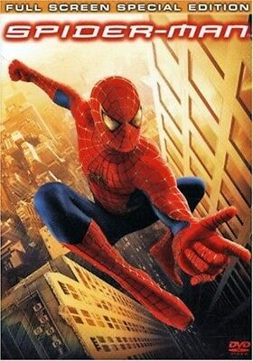 Spider-Man 2-DVD Special Ed Full Screen Tobey Maguire Kirsten Dunst Willem Dafoe