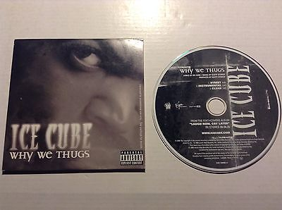 630107c8e23 Ice Cube - Why We Thugs PROMO CD SINGLE IMPORT LENCH MOB WESTSIDE  CONNECTION RAP