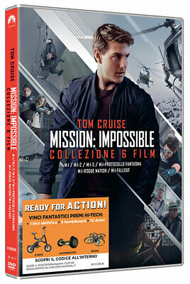 Mission Impossible 1-6 Collection (6D) Azione - Dvd