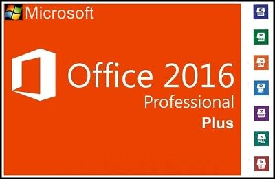Microsoft Office 2016 Professional Plus Key MS Office Pro Plus Sofort Versand.