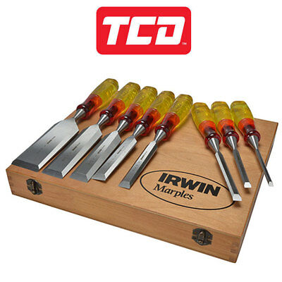 Irwin Chisel Set Marples 8 Piece Limited Edition Split Proof - XMS18S373S8