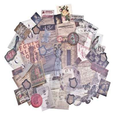 Tim Holtz Idea-ology Vellum Ephemera Pack Thrift Shop 54pcs #TH93149