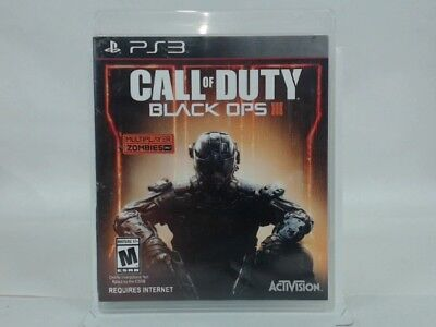 CALL OF DUTY BLACK OPS III Playstation 3 PS3 w/ Original Box Acceptable