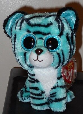 27a58f785de TY BEANIE BOOS - TESS the Tiger (6 Inch)(Justice Exclusive) NEW MWMT ...
