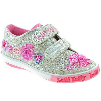 78a2d899df0f3 NWT Lelli Kelly Girls Dolly Butterfly Shoes Size EU 32 US 1 Pink NEW.  $39.99 Buy It Now 29d 3h. See Details. Lelli Kelly LK9081 (GH01) Silver  Glitter Daisy ...