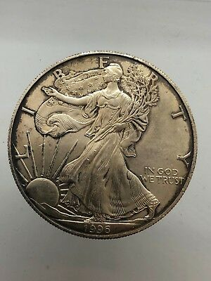 America - USA 1 Dollar 1996 American Silver Eagle Walking Liberty km#273 DOLLARO