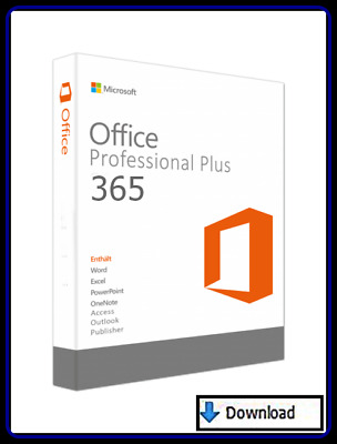 Office 365 Pro Plus = Office 2016 Pro Plus  für 5 PC/MAC/ 5TB OneDrive