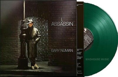 GARY NUMAN LP I Assassin GREEN VINYL Remastered 2019 Limited + Promo Sht PRE-SEL
