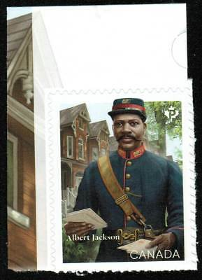 Canada Sc#??? Black History Month : Albert Jackson, Unit from Booklet, Mint-NH