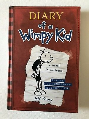Diary of a Wimpy Kid, Book 1, Jeff Kinney