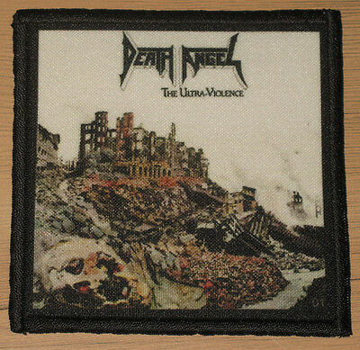 """DEATH ANGEL """"THE ULTRA VIOLENCE"""" silk screen PATCH"""