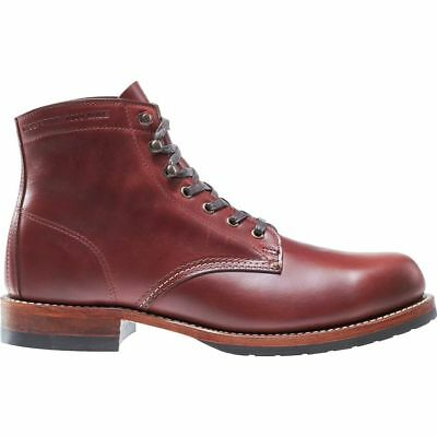 31ec867feb5 NEW WOLVERINE 1000 Mile Evans Boots Dark Brown Leather Mens Sizes 8-9 Fast  Ship