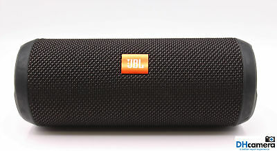 JBL Flip 3 Splashproof Portable Bluetooth Speaker Black - Waterproof Resistant