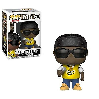 Funko - POP Rocks: Music: Notorious B.I.G. in jersey Brand New In Box