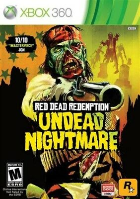 Red Dead Redemption: Undead Nightmare - Xbox 360 Game Only