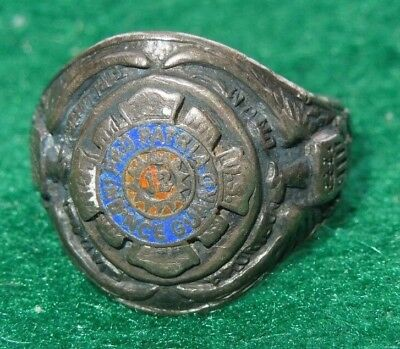 WWII US Army 12th Infantry Regiment National Guard Sterling Ring Men's Jewelry