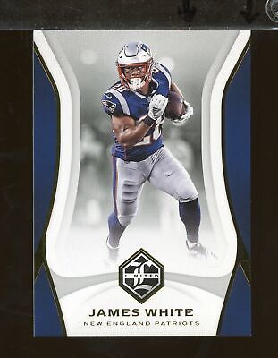 2018 Limited Base JAMES WHITE New England Patriots (FB1)